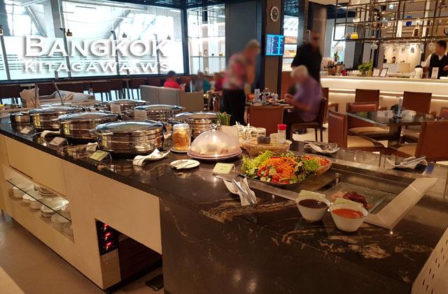 Singapore Airlines Business Class Lounge Bangkok