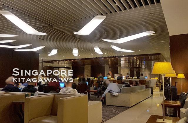 シンガポール航空チャンギ空港ラウンジ