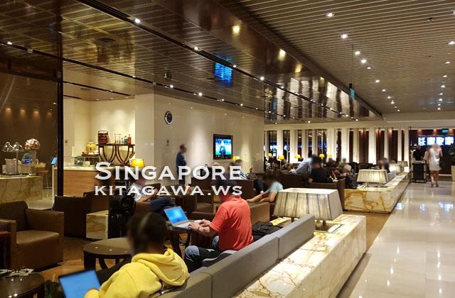 シンガポール航空チャンギT3ラウンジ