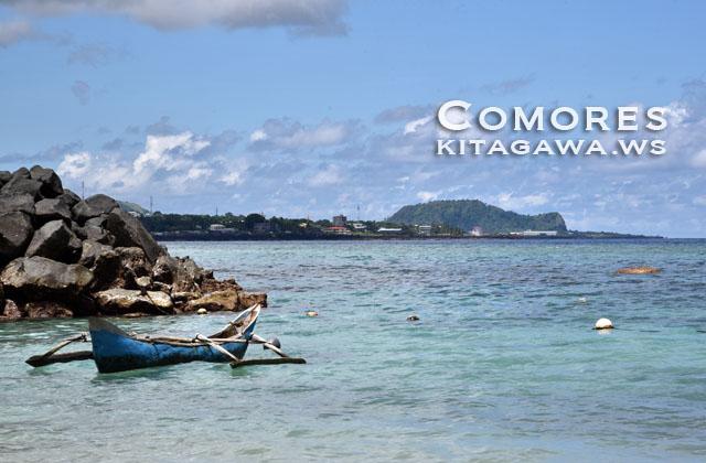 グランドコモロ島 ビーチ