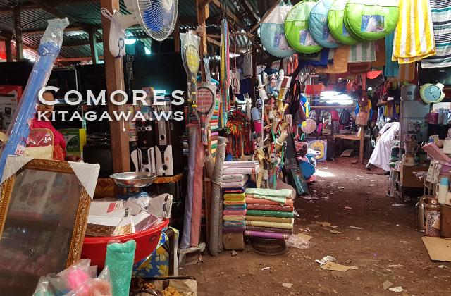 グランドコモロ島 市場
