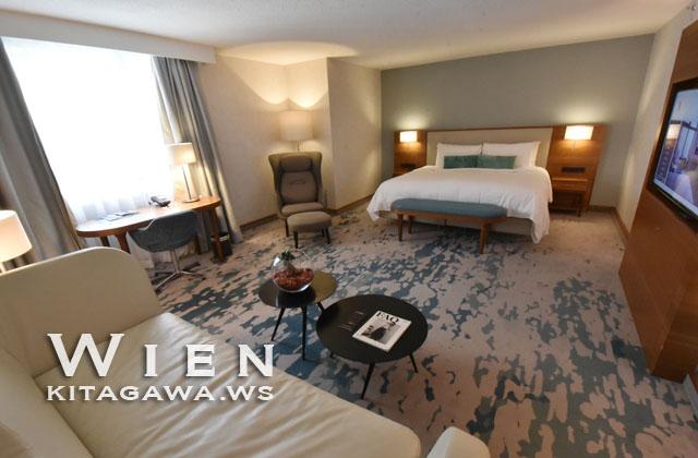 ウィーンマリオットホテル宿泊記ブログ ジュニアスイート