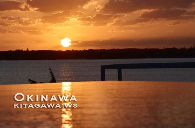 伊良部島 サンセット 夕陽