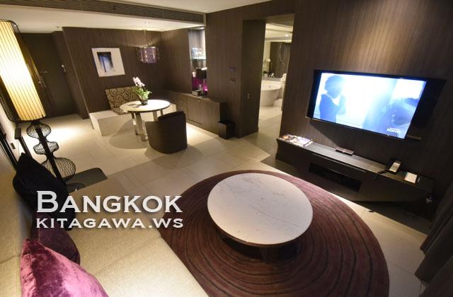ルメリディアンスワンナプームバンコク ホテル宿泊記 1ベッドルームスイート