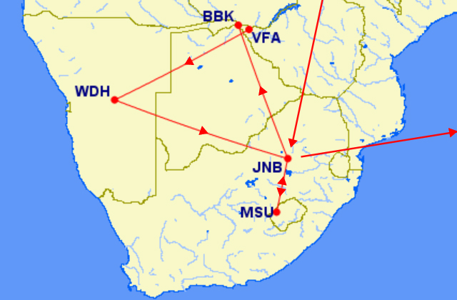アフリカ フライト
