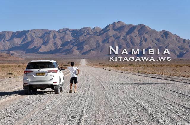 ナミビア旅行記 ドライブ レンタカー