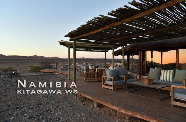 ナミブ砂漠 リゾート