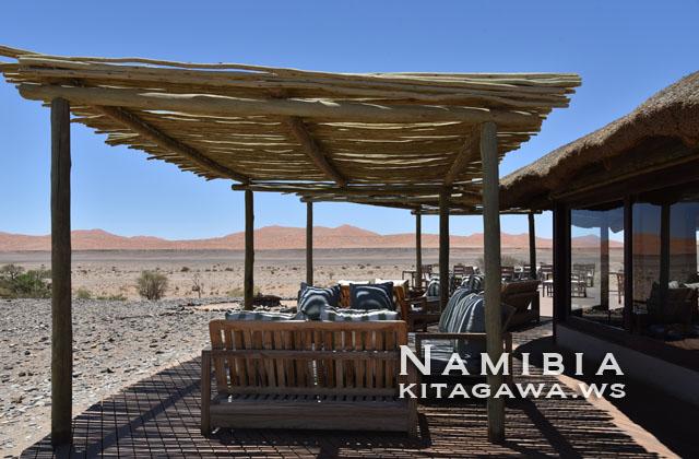ナミブ砂漠 高級リゾート