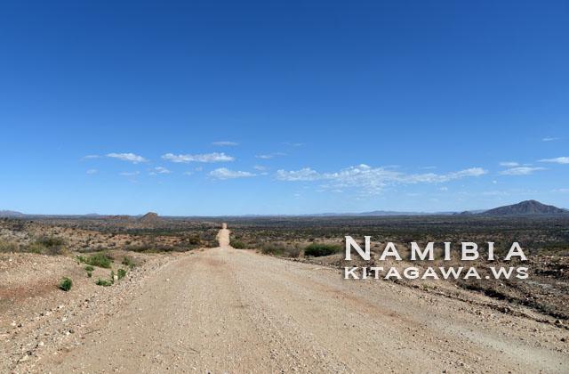 ナミビア 未舗装 レンタカー