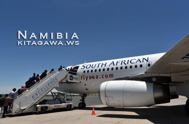 南アフリカ航空A320搭乗記