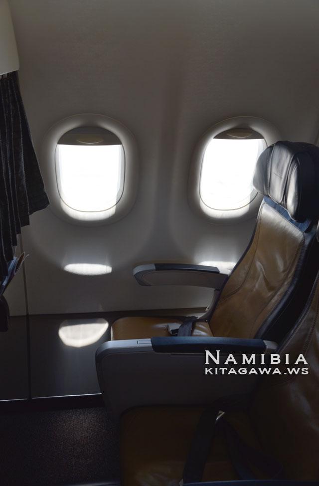南アフリカ航空エコノミークラス