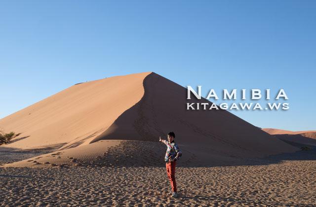 ナミブ砂漠 ナミビア旅行記
