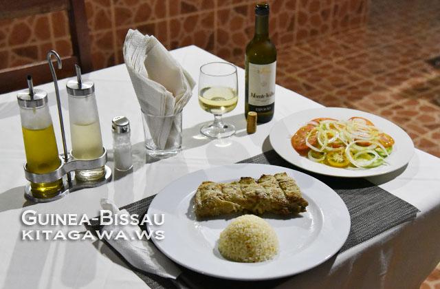 ギニアビサウ レストラン