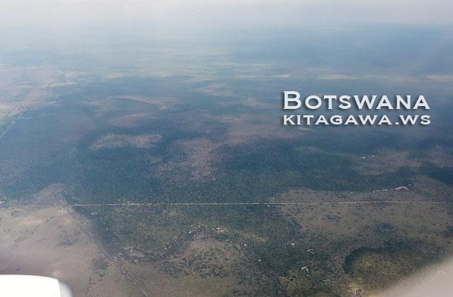 ボツワナ 飛行機