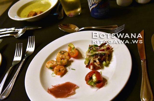 ボツワナ レストラン