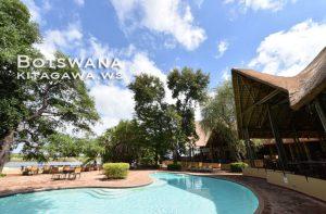 チョベサファリロッジ Chobe Safari Lodge ホテル宿泊記