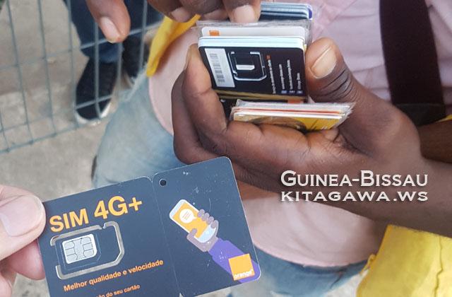 ギニアビサウ SIMカード