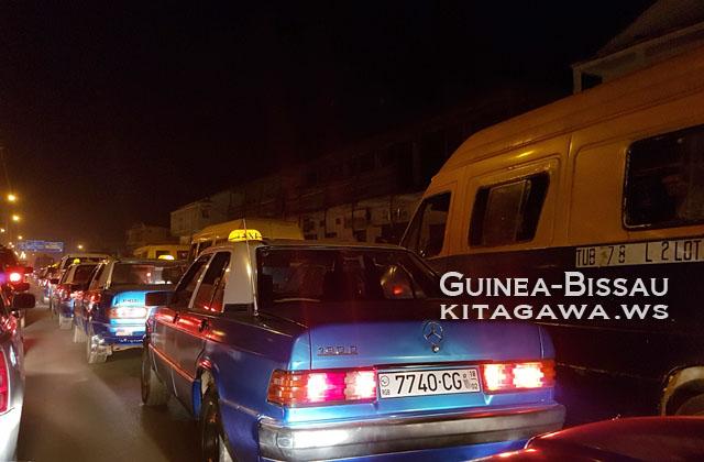 ギニアビサウ 空港から市内まで