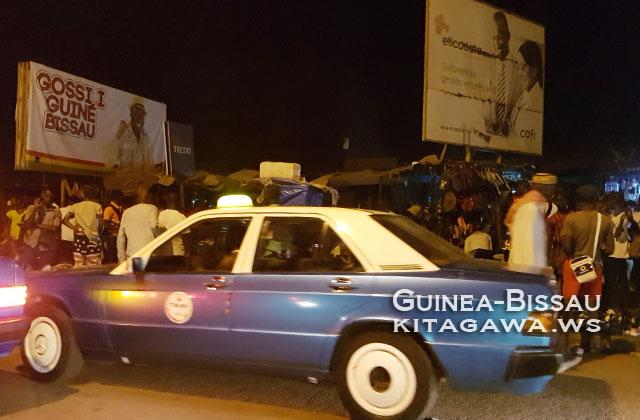 ギニアビサウ タクシー