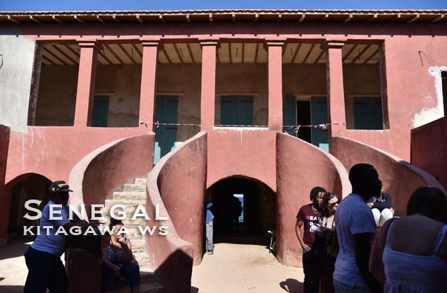 セネガル ゴレ島 奴隷の家