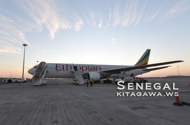 エチオピア航空B767-300