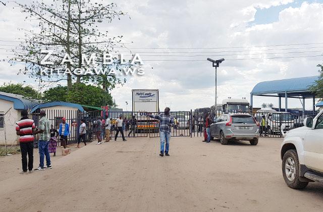 カズングラ ザンビア国境
