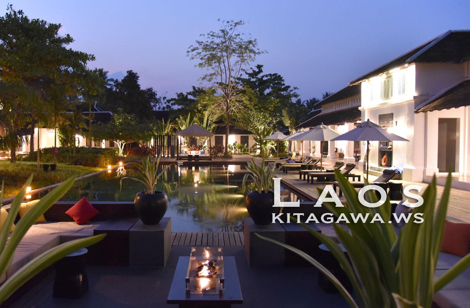 ソフィテルルアンパバーン Sofitel Luang Prabang ホテル宿泊記
