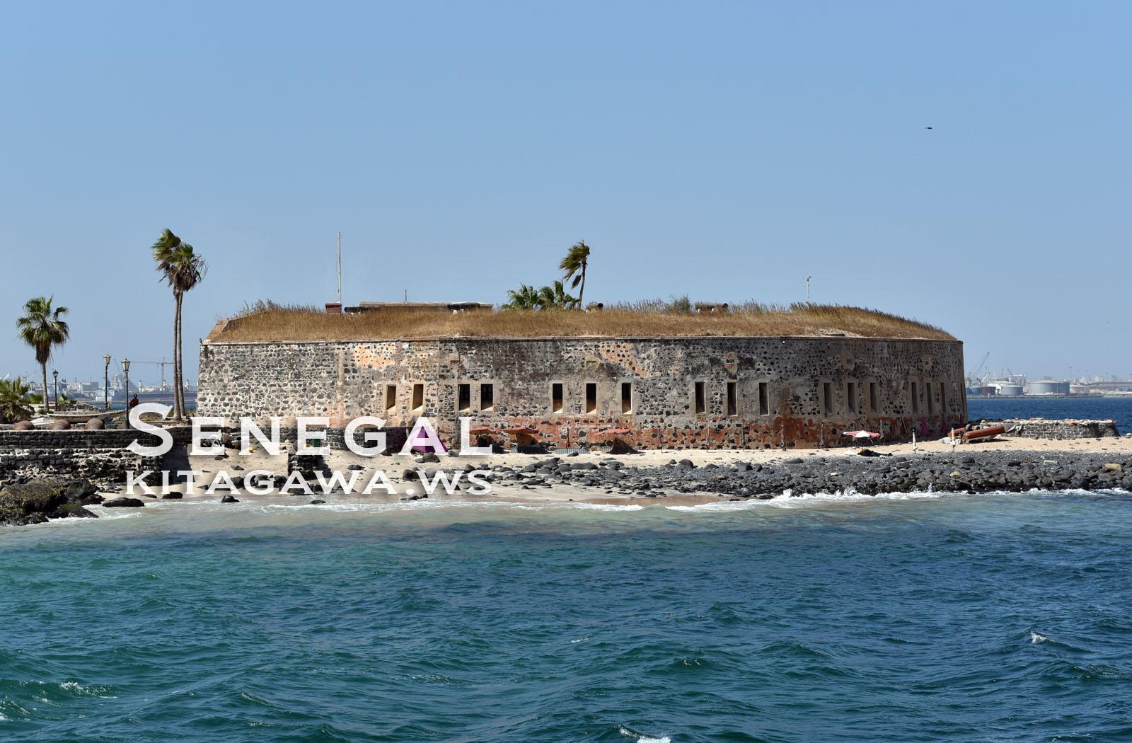 ゴレ島 Fort d'Estrées セネガル歴史博物館