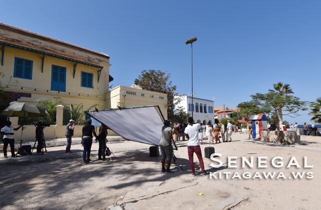 セネガル 映画撮影