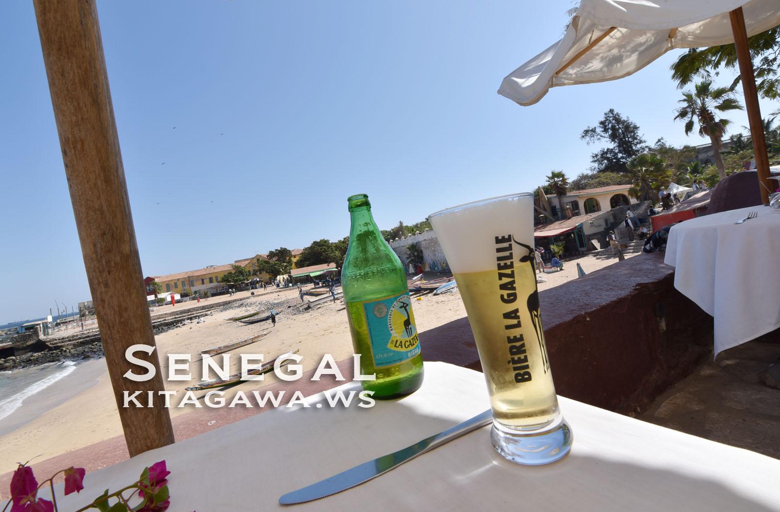 セネガルのビール La Gazelle