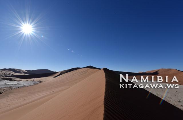 ナミブ砂漠 絶景