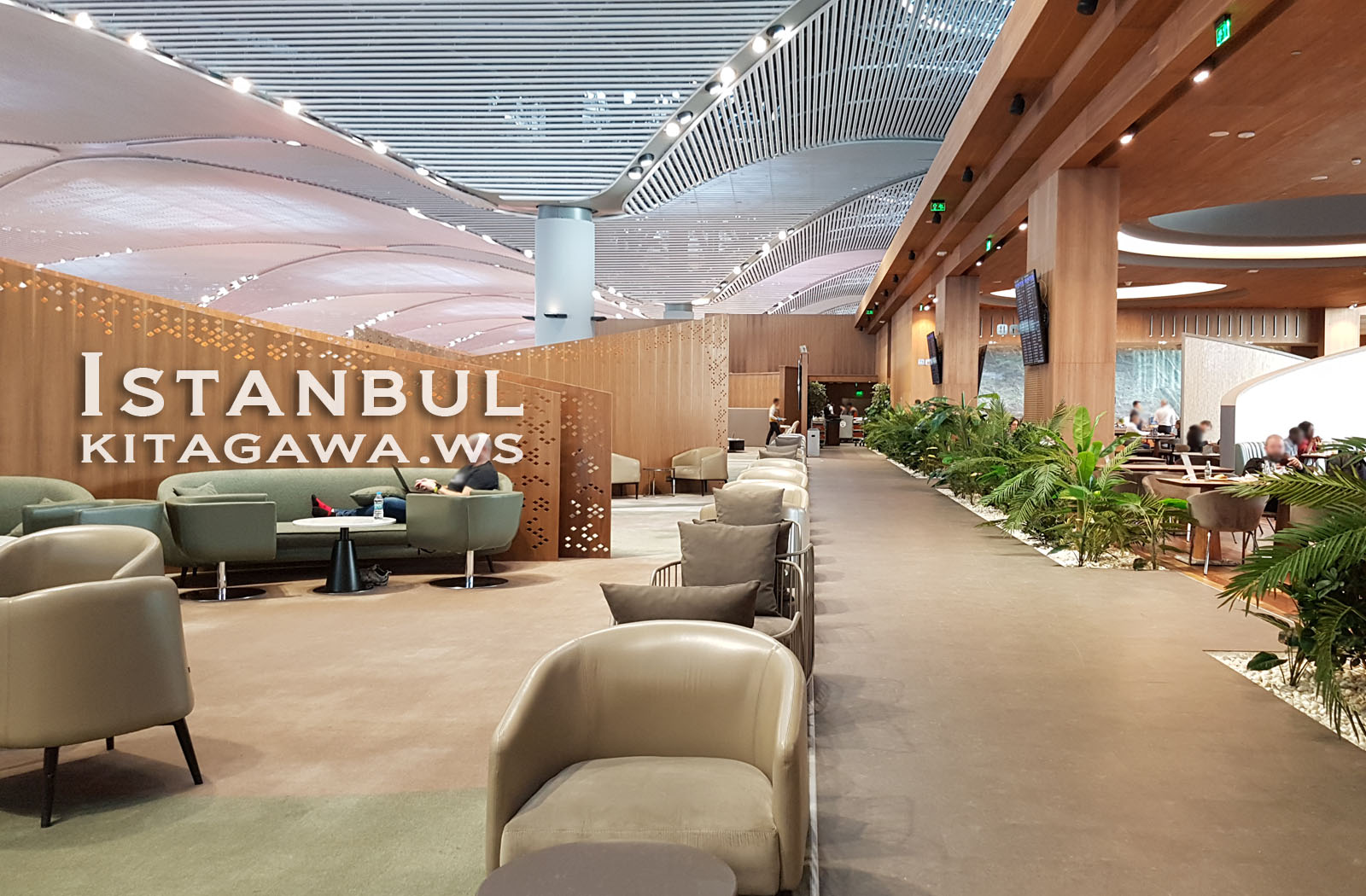 IGA LOUNGE イスタンブール新空港 プライオリティパスラウンジ