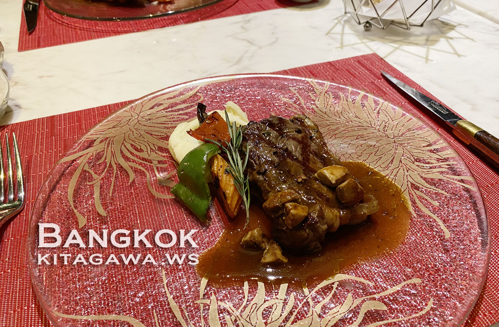 セントレジス バンコク ディナー