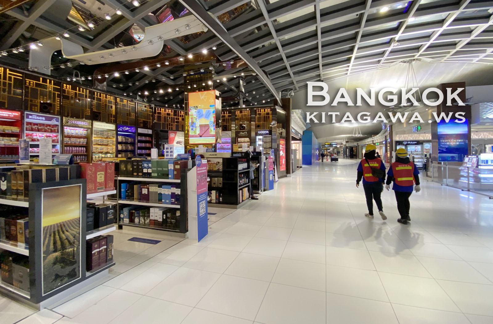スワンナプーム国際空港 免税店
