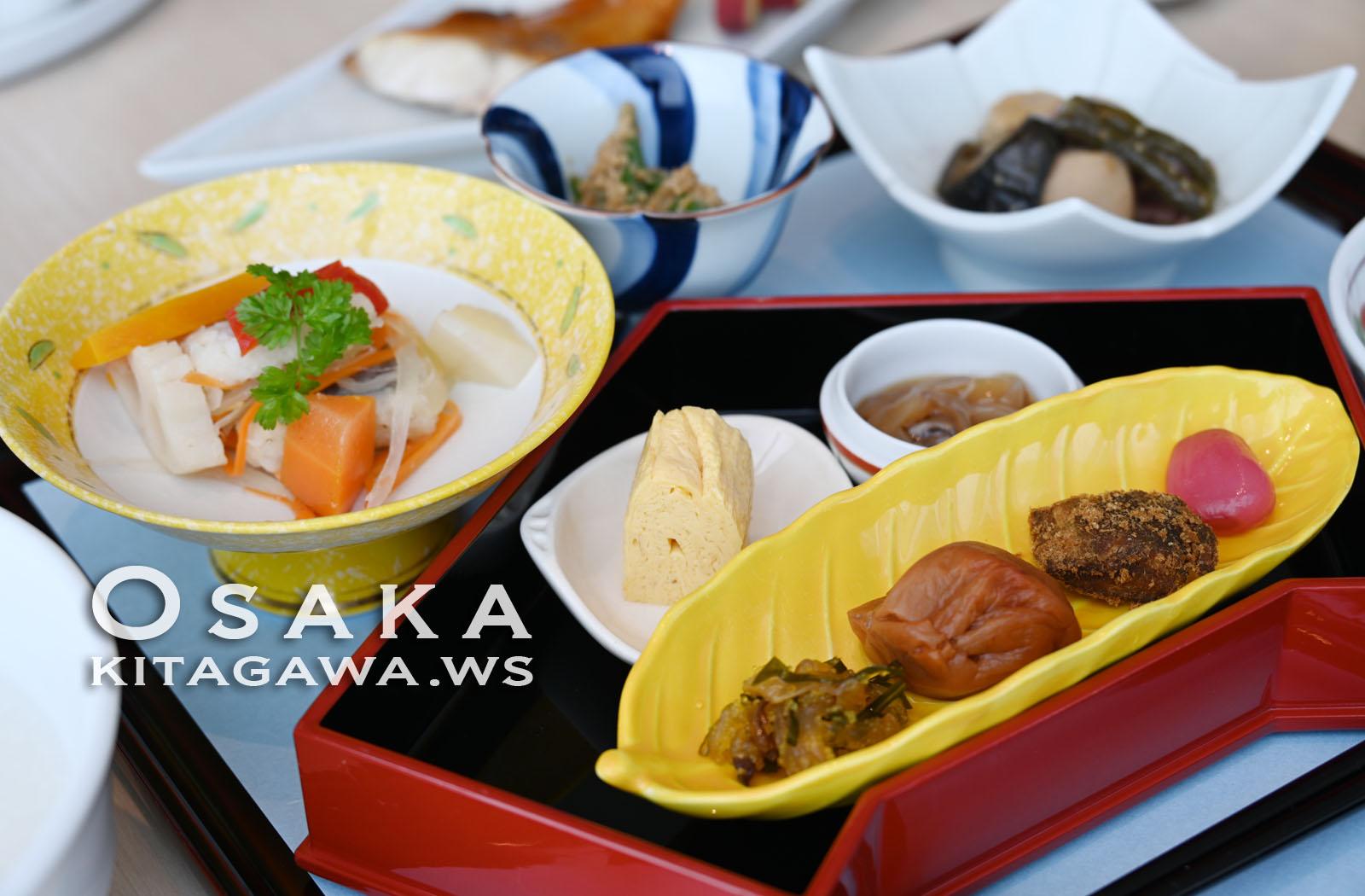 大阪マリオット都ホテル 朝食