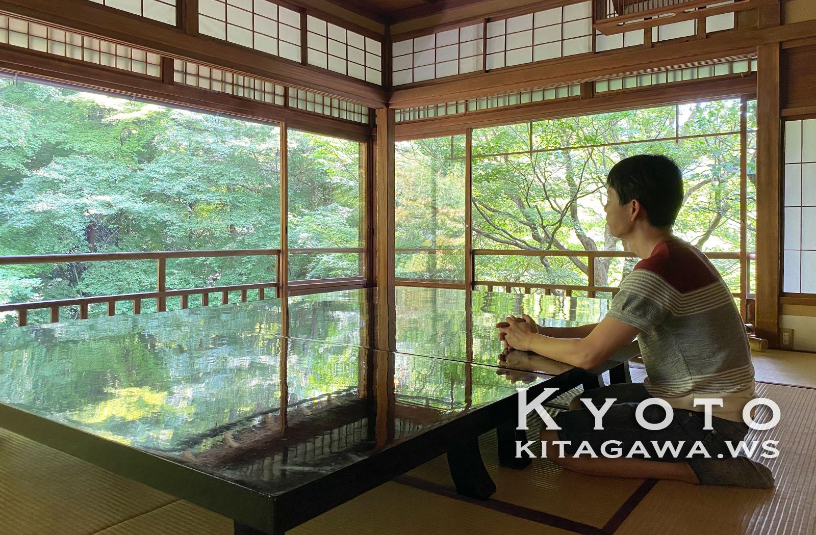 京都旅行記ブログ瑠璃光院
